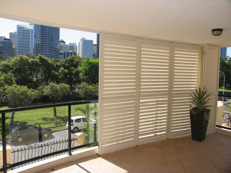Commercial shutters Brisbane high-rise
