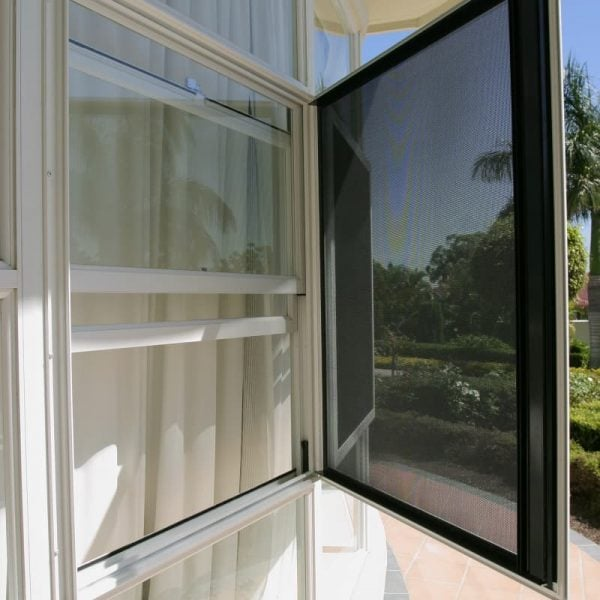 Crimsafe Safe-S-Cape window