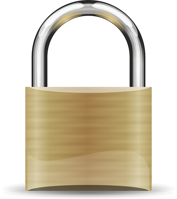 Image of a brass lock
