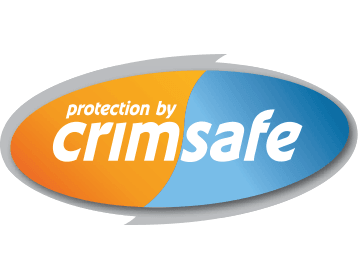 Protection by Crimsafe PNG Logo