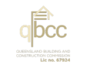 Queensland Building and Construction Commission Logo.