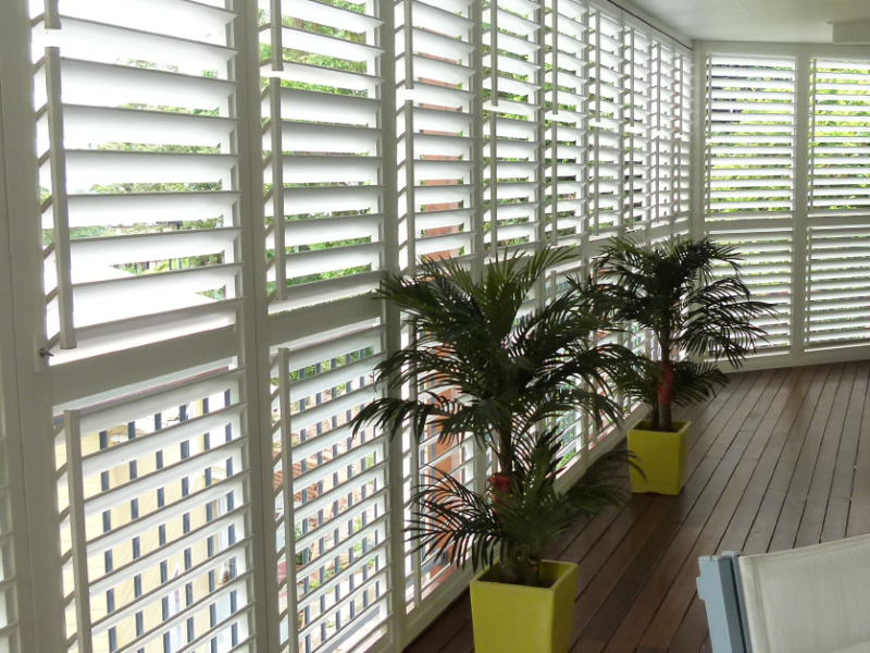 Enclosed Patio Shutters